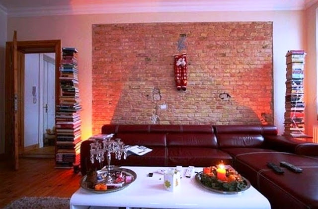 painting ideas for a brick wall