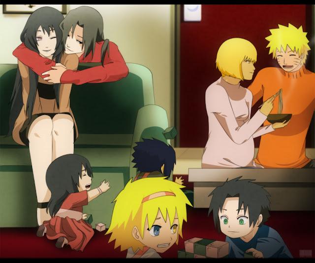 Naruto  amp  HinataNaruten Family