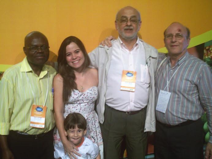 Pedro, Laydiane, Lorenzo, Renato Maluf e Sillas Vieira