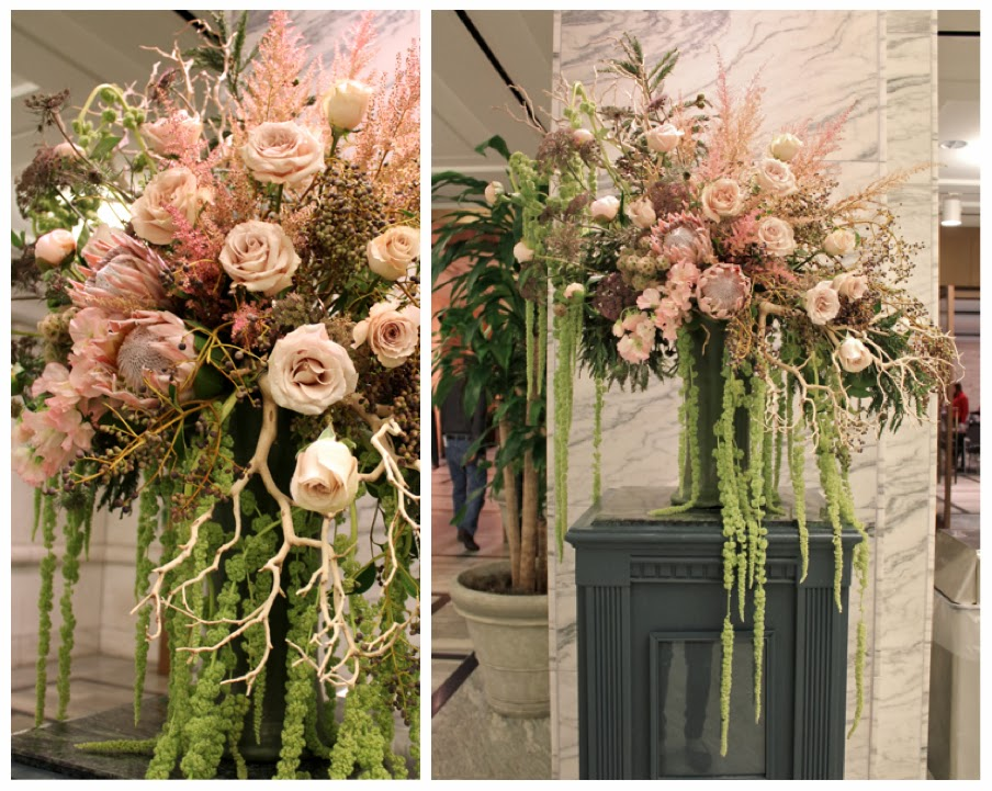 www.sweetpfloral.com Sweet Pea Floral Design XL floral arrangement for the Detroit Institute of Arts DIA