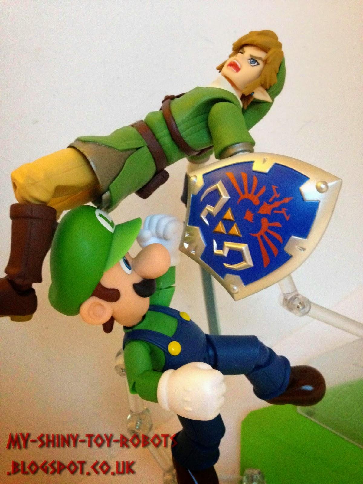 Luigi vs Link