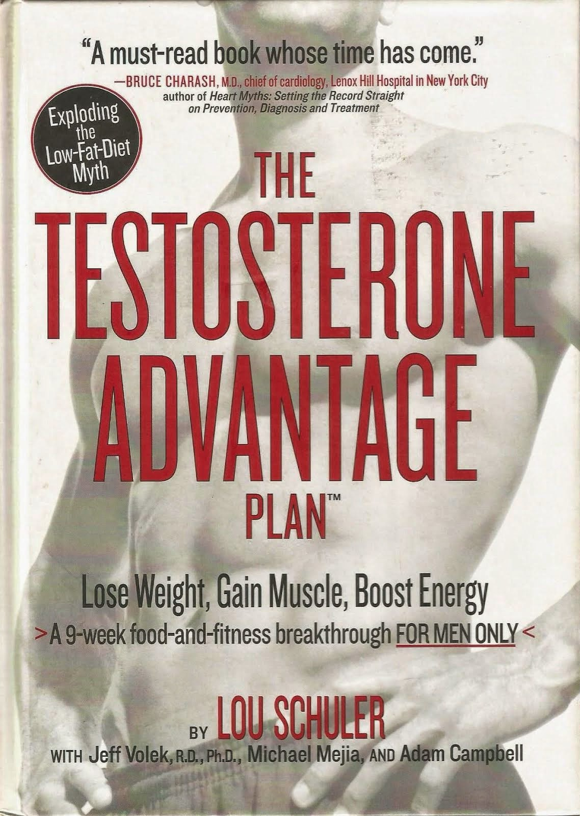 THE TESTOSTERONE ADVANTAGE PLAN BY LOU SCHULER