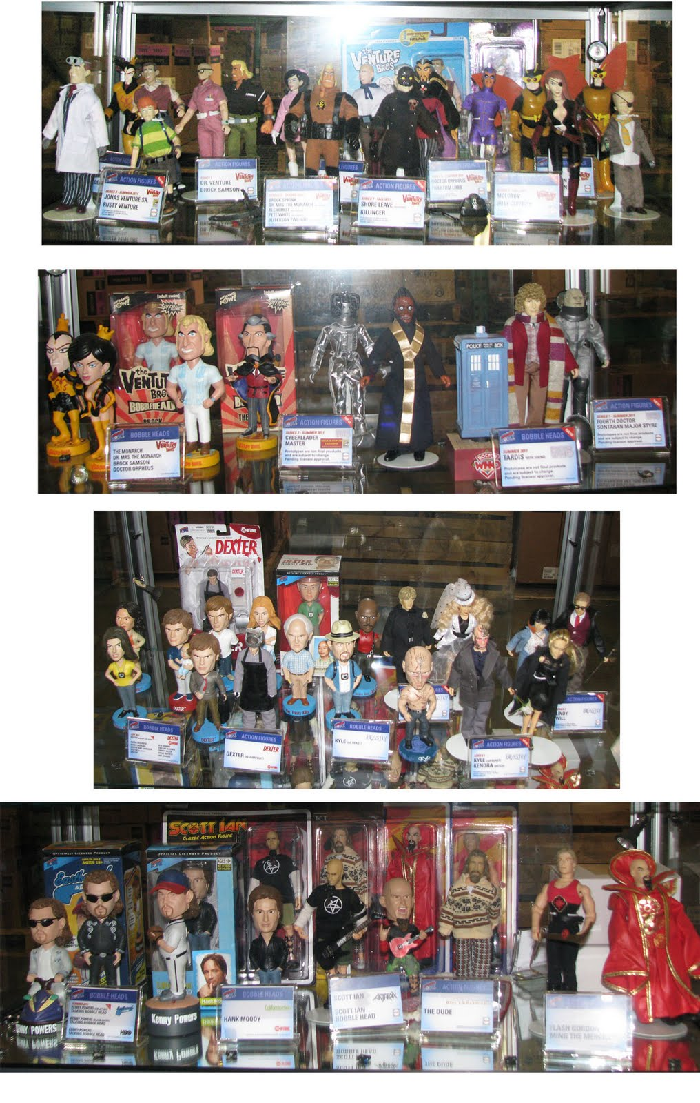 Doctor Who Action FIgures = Bif Bang Pow!