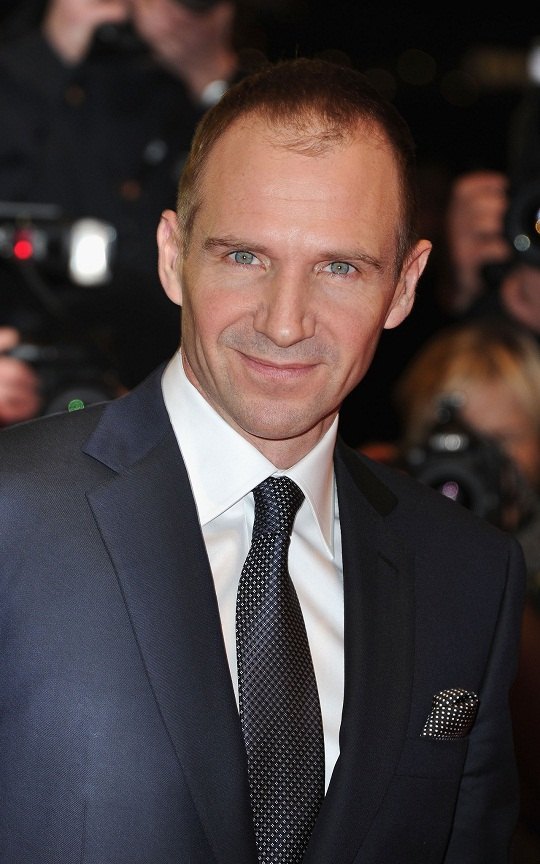 Ralph Fiennes Smile