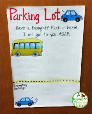 "Save Teaching Time with A Word On Third's ""Parking Lot"" Strategy"