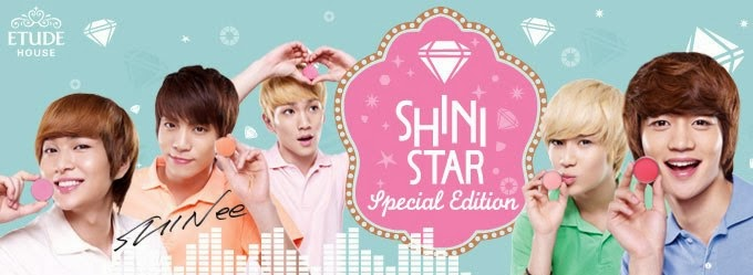 Be A Shini Star With ETUDE House And SHINee