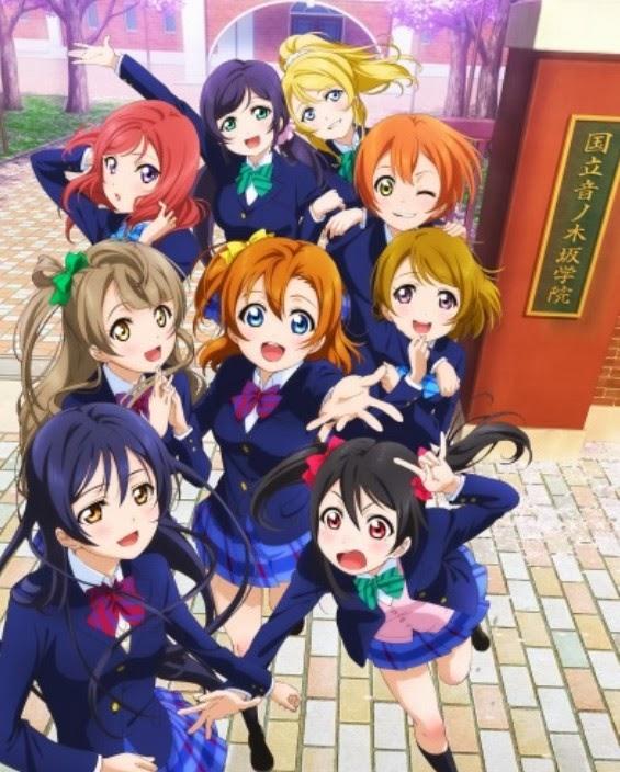 الانمي Love Live! School Idol Project الجزء الاول - تقرير Love Live! School Idol Project الموسمين الاول والثاني -  Love Live! School Idol Project الجزئيين علي الخليج - حلقات الانيمي Love Live مترجمة عربي