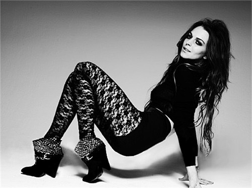 Lindsay Lohan, Actress, Elle magazine