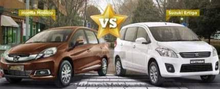 Perbandingan antara Honda Mobilio dan Suzuki Ertiga