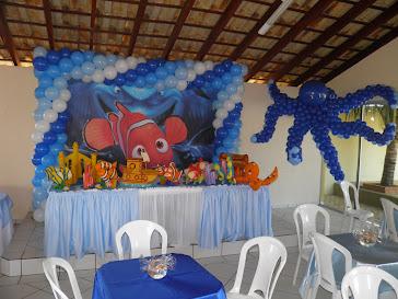 Festa Nemo e Escultura de Polvo