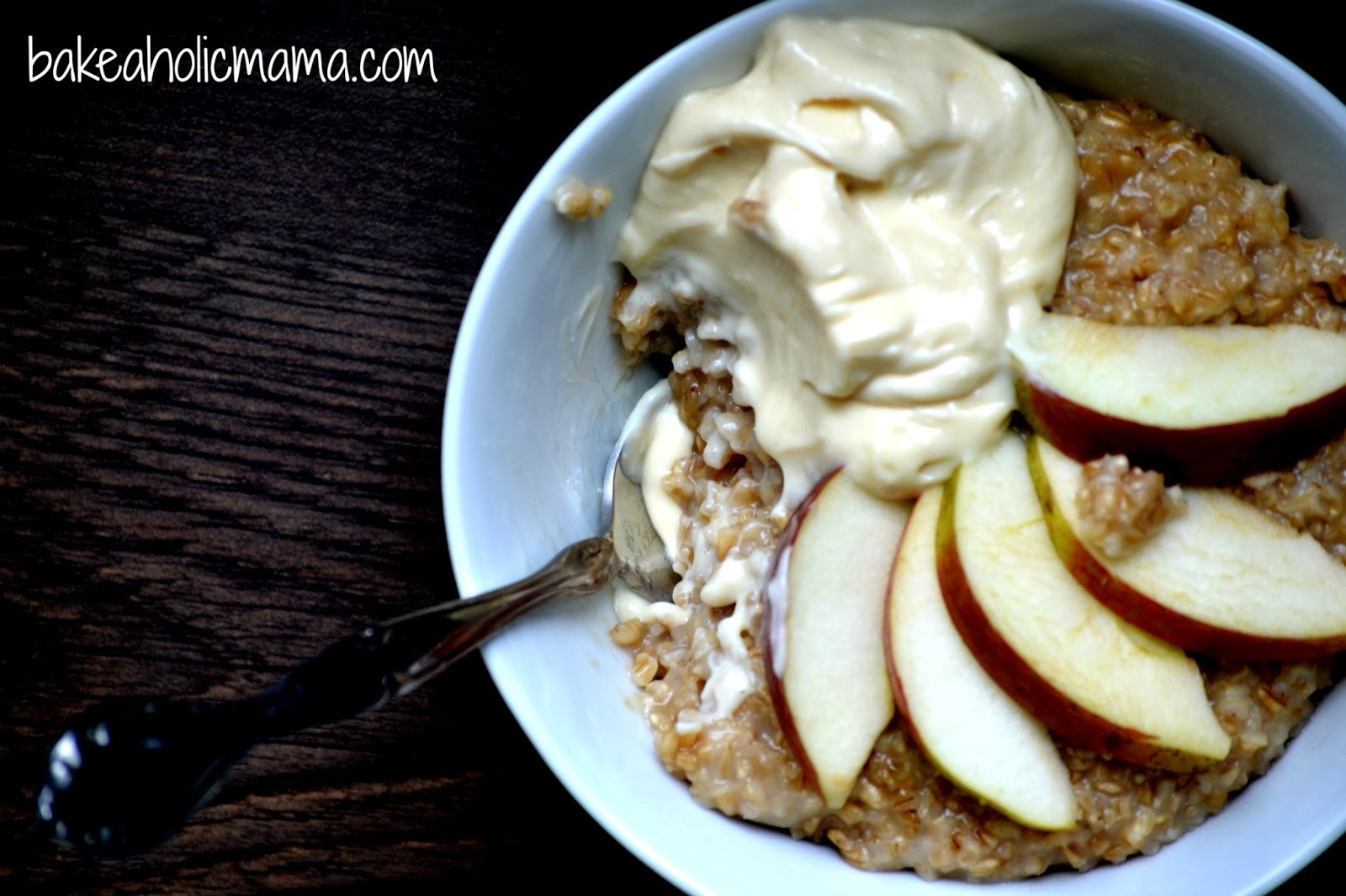 Overnight Slow Cooker Steel Cut Oats with Whipped Maple ...