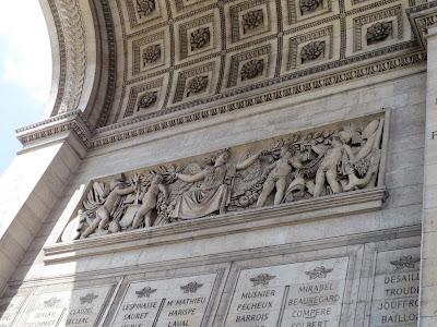 Arc De Triomphe, Paris, France www.thebrighterwriter.blogspot.com