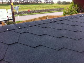black hexham roof tiles