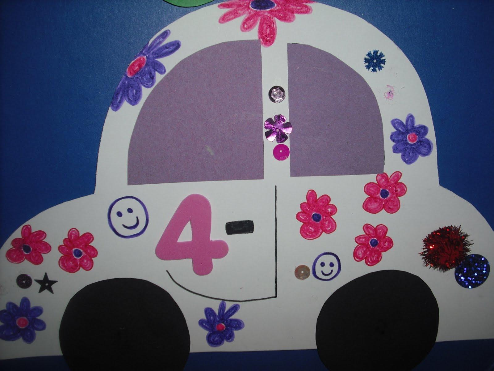 Artventurers art and crafts for kids brum brum beep for Car craft for kids