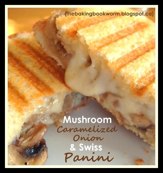 Mushroom, Caramelized Onion and Swiss Panini