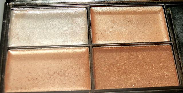 Sleek Makeup Precious Metals Highlighting Palette Swatches