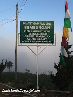 Sunrise Bukit Sikunir, Dieng, Jawa Tengah