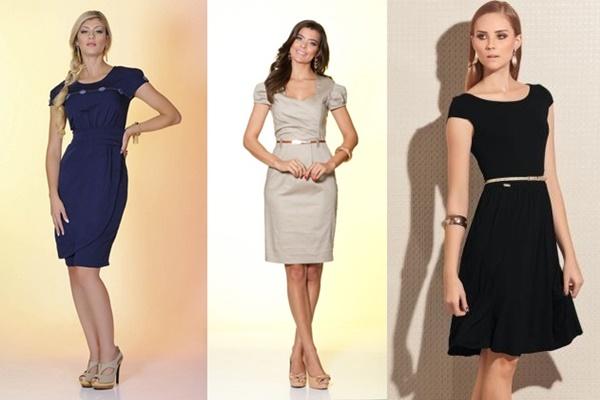 modelos de vestidos sociais