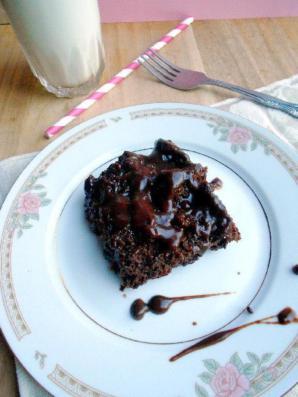 Confessions of a Confectionista: Hot Fudge Pudding Cake