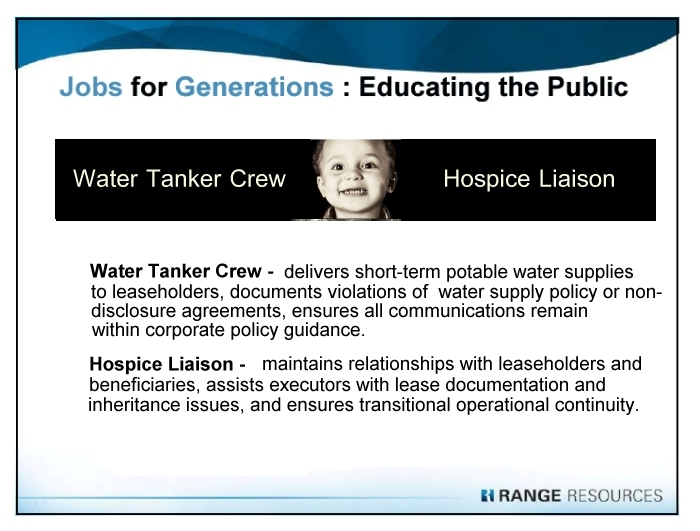 Range Resources - Marcellus Shale Jobs - Water Tanker Crew, Hospice Liaison