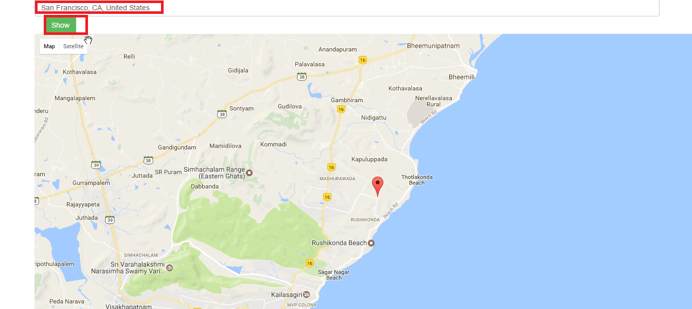How to Geocode an Address in Google Maps Javascript