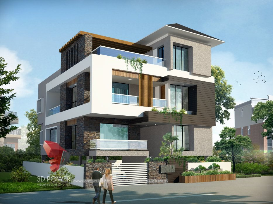 Ultra modern home designs home designs modern home for 3d home