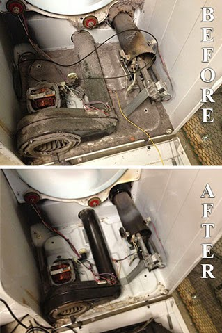 Dryer Vent Cleaning Makes a BIG Difference!