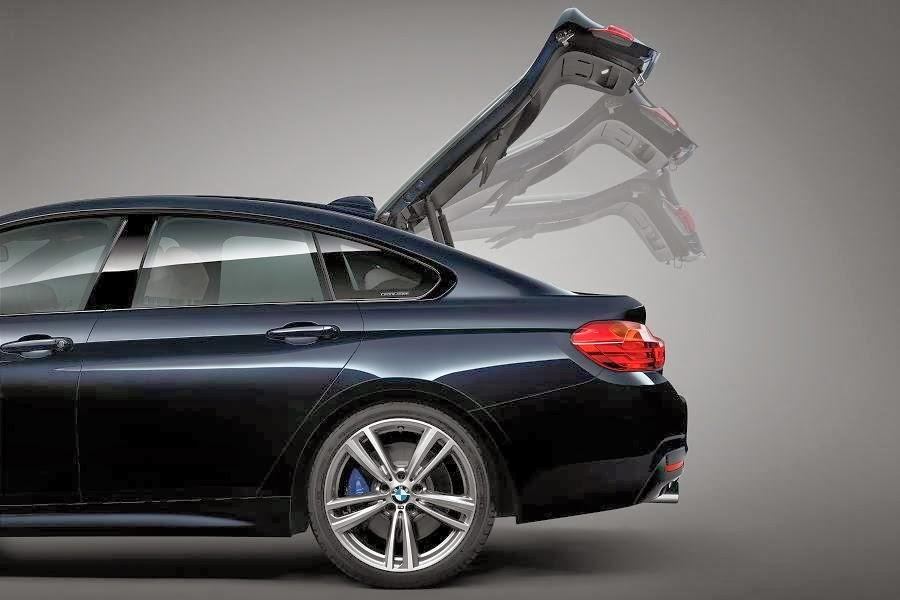 BMW 4 Series Gran Coupé M Sport (2014) Tailgate