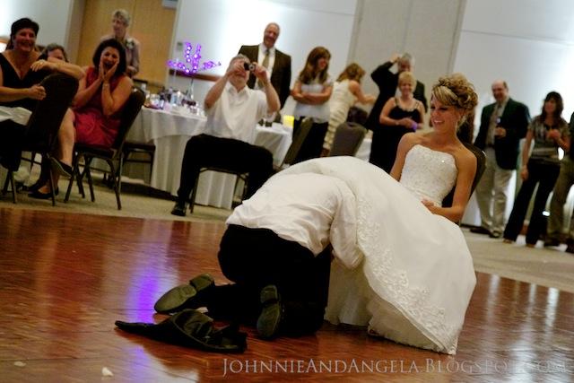 New wedding reception traditions