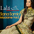 Sana Samia Macrame Collection 2014 Vol 2 by Lala Textiles | New Lala Sana & Samia Macrame Dresses Vol-2