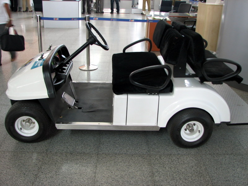 Ramblings and musings new hyderabad airport for Motorized cart for seniors