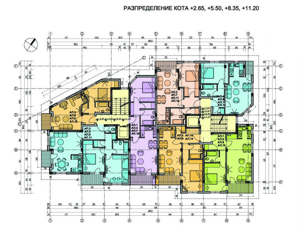 Architecture diagrams galleries architecture floor plans for Villa architecture design plans