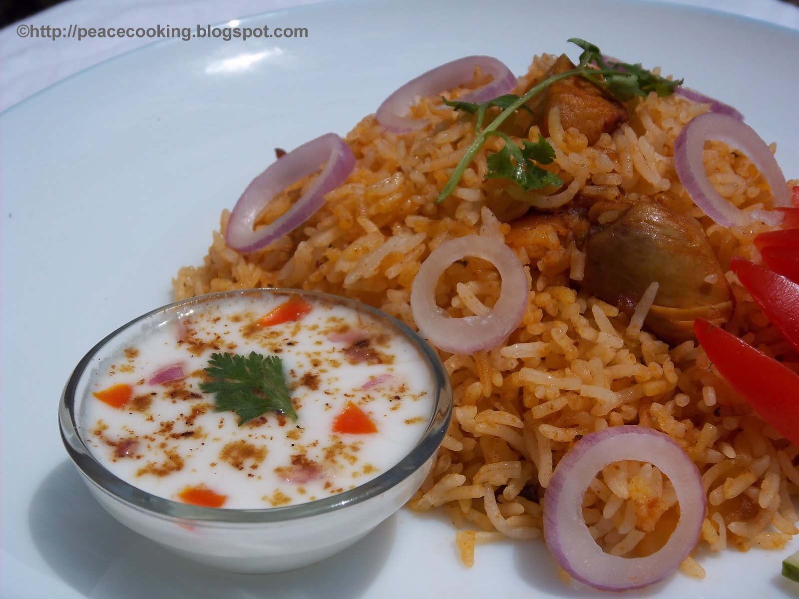 TIPS FOR DELICIOUS AND HEALTHY COOKING: Chicken Tomato Rice Pilaf