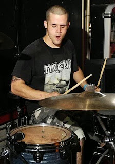 TRIVIUM Ex-Drummer Nick Augusto - photo from tanakamusic.com