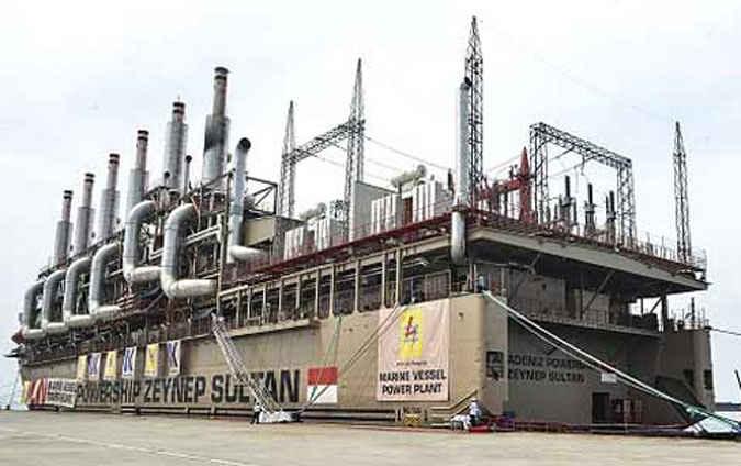 Kapal pembangkit listrik Marine Vessel Power Plant (MVPP) Aradeniz Powership Zeynep Sultan berkapasitas 60 megawatt (MW) dipastikan tiba di Kota Ambon, April 2017.