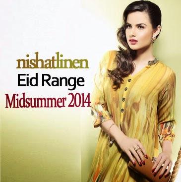 Nishat Linen Midsummer 2014