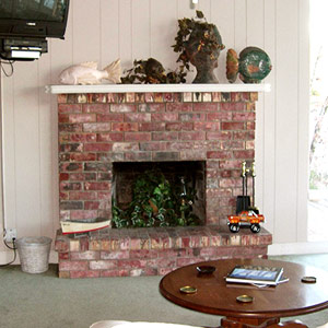 Dwellers Without Decorators: Fireplace Makeover