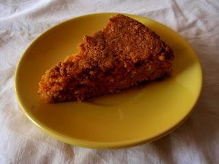 torta di carote e mandorle (gluten free, lactose free)