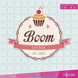 BOOM Tulipware | September - Oktober 2013