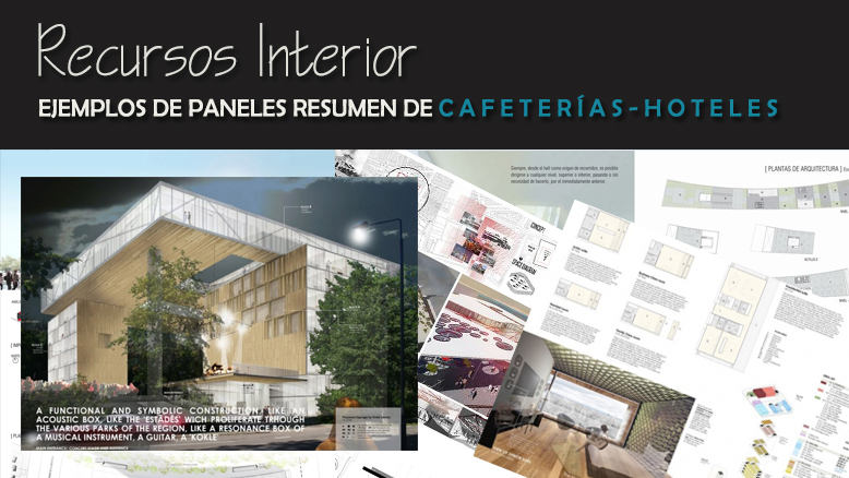 7 ejemplos de panel resumen cafeter as hoteles y for Como disenar un hotel