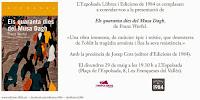Presentació Els quaranta dies del Musa Dagh de Franz Werfel amb Josep Cots, editor