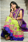 Krishnaveni glam in half saree-thumbnail-3