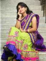 New Actress Krishnaveni Gorgeous in halfsaree-cover-photo