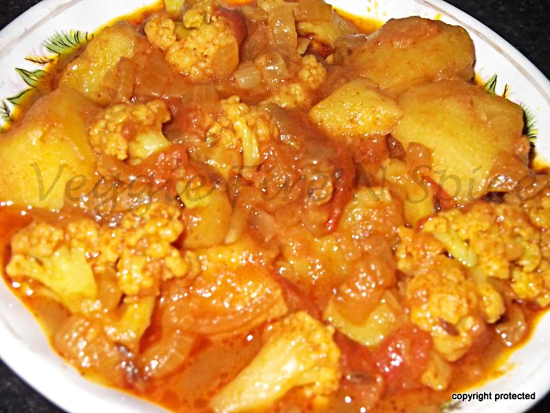 Aloo Gobi | Aloo Gobi Masala | Aloo Gobi Curry | Veggie Fire N Spice