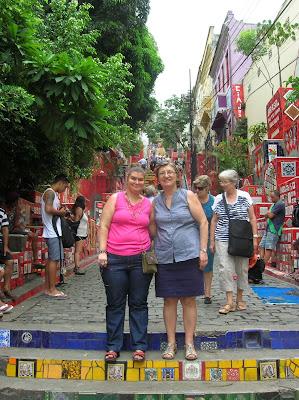 Escalera Selarón, Rio de Janeiro, Brasil, La vuelta al mundo de Asun y Ricardo, round the world, mundoporlibre.com