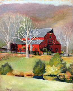 Barn in Free Union, VA by Catherine Twomey