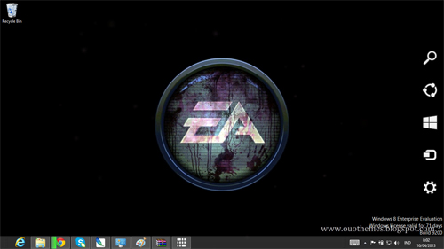 Electronic Arts Logo Theme For Windows 7 And 8
