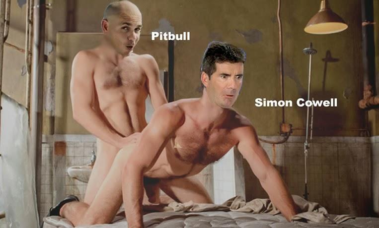 Pitbull, Simon Cowell