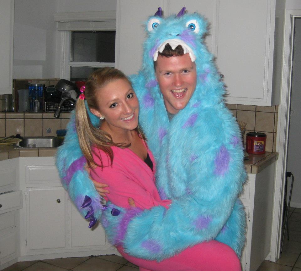 Senior Alyssa Dasso and our Ivy Man David Neubert as Boo and Sully from Monsteru0027s Inc.  sc 1 st  LMU Alpha Phi & LMU Alpha Phi: Exchange and Date Night