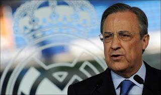 Florentino Pérez-Real Madrid president